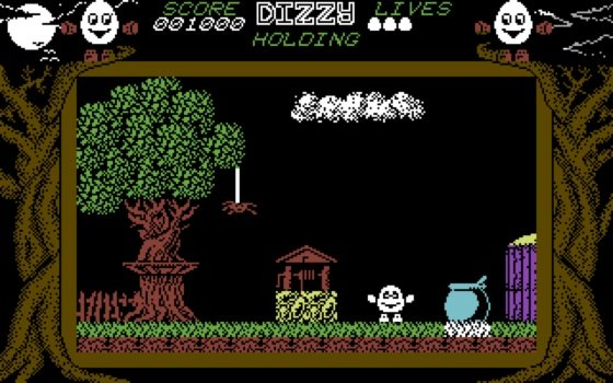 Dizzy Commodore 64 screenshot
