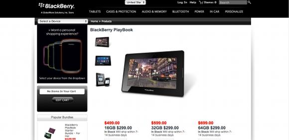 PlayBook US price cut