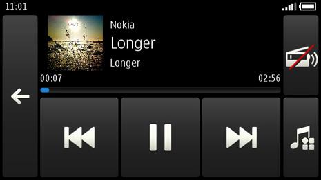 Nokia Car Mode app screenshot
