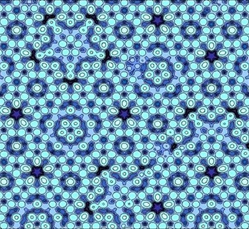 Atomic model of quasicrystal surface