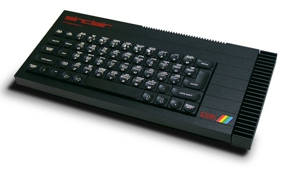 Sinclar ZX Spectrum+ 128