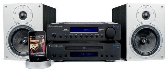 Cambridge Audio Sonata DR30 and S30 speakers