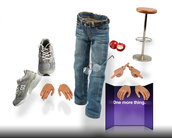 Accessories for Steve Jobs action figure