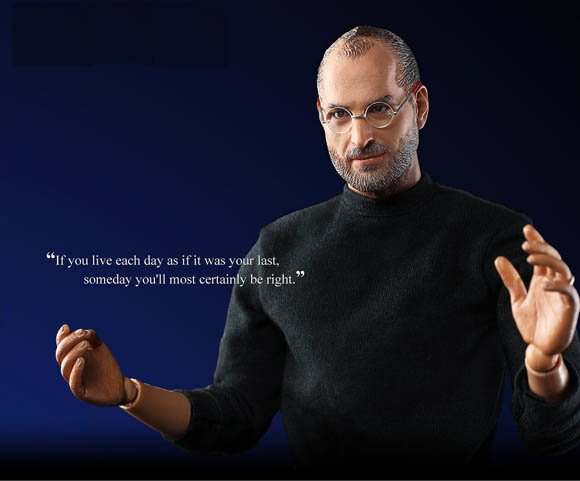 Steve Jobs action figure by In Icon