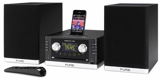 Pure Sirocco 550 mini hi-fi system
