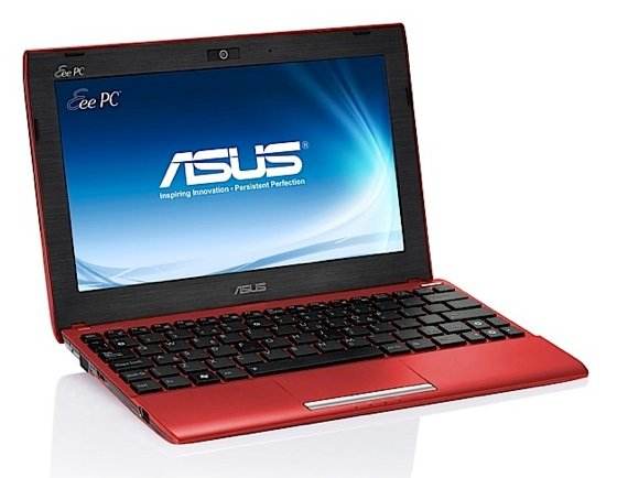 Asus Eee PC 1025CE Atom netbook