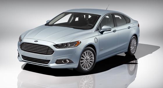 Ford Fusion Energi e-car
