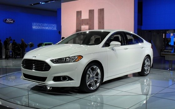 is the 2013 Ford Mondeo, give or take a few minor technical details