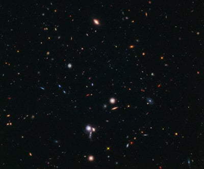 Hubble galaxy discovered by BoRG