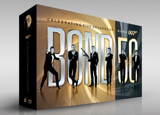 James Bond - Complete 22 Film Collection