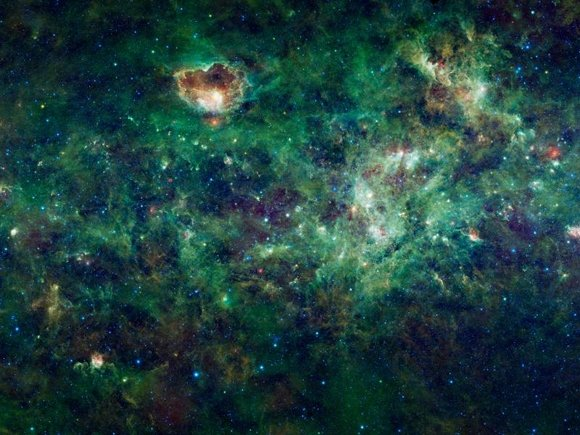 A section of the Milky Way