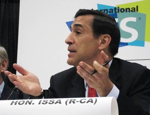 US Representative Darrell Issa (R-CA)