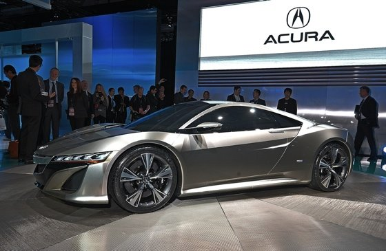 Honda next-gen NSX