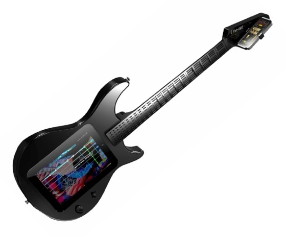 Behringer iAxe iPad-based guitar