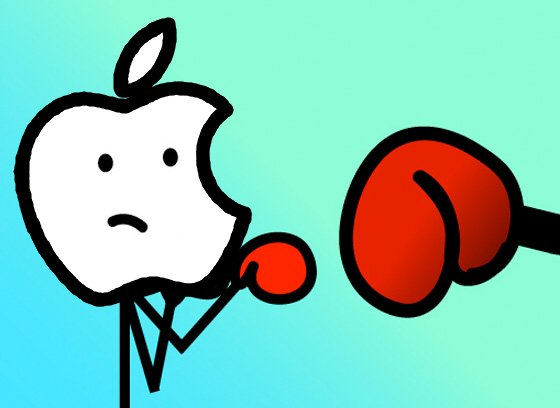 Apple punchbag