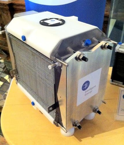 Vauxhall hydrogen fuel-cell car