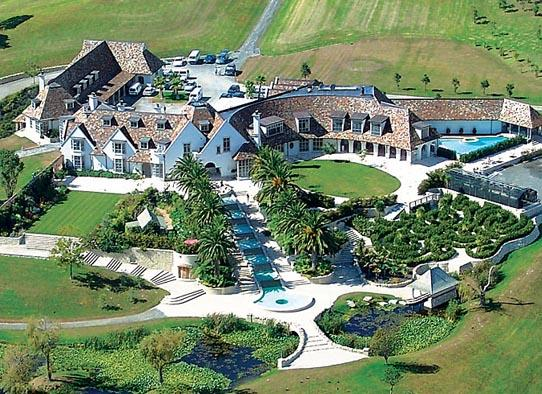 Kim Dotcom's Rented Mansio
