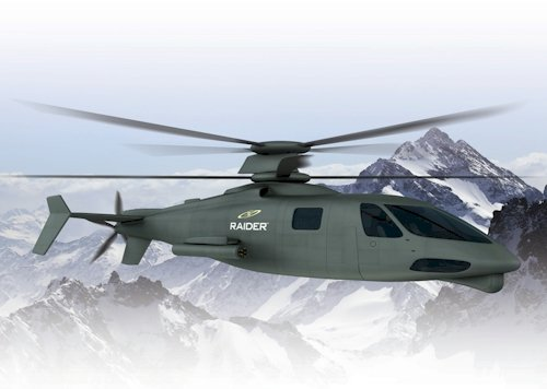 Sikorsky's S-97 Raider helicopter