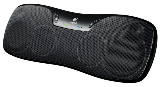 Logitech Wireless Boombox Z715 portable speaker dock