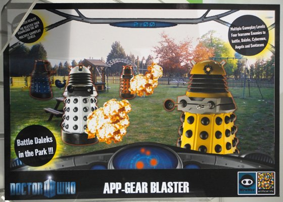 WowWee Appgear Doctor Who game
