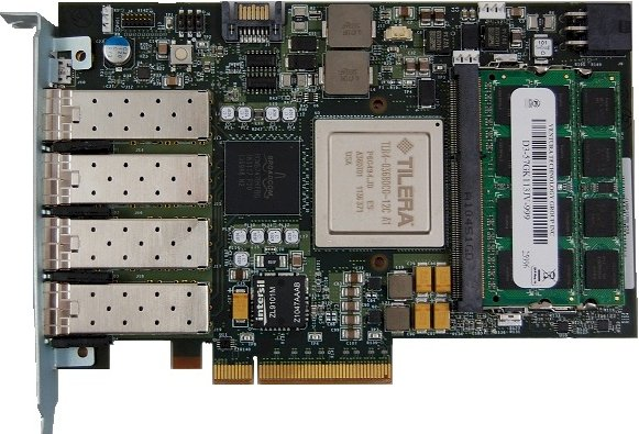 Tilera Tilencore adapter card
