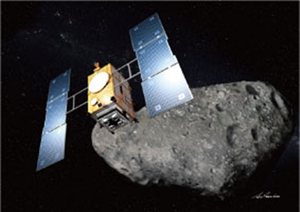 Hayabusa 2 asteroid probe