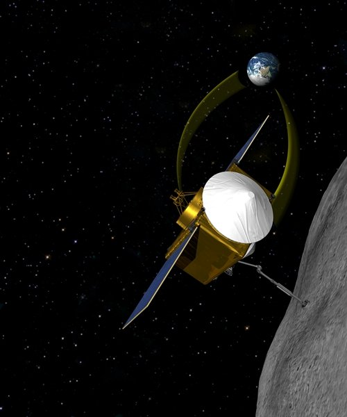 OSIRIS REx asteroid probe