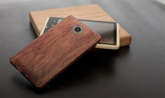ADzero bamboo smartphone