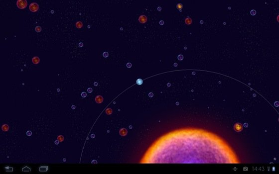 Osmos HD Android game screenshot