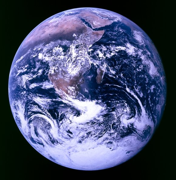 Original 'Blue Marble' pic taken by Apollo 17 astronauts in 1972