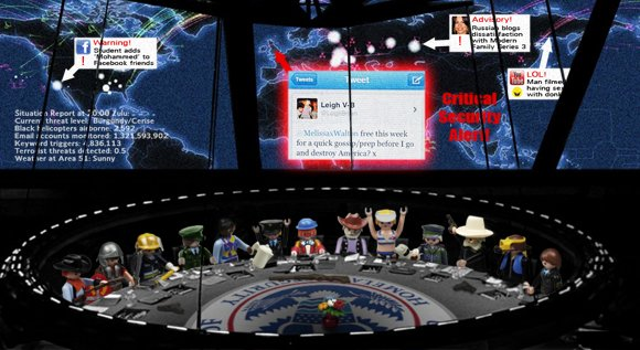 Inside the Homeland Security cyberwatch bunker as the tweet alert came in