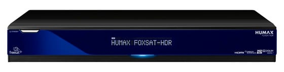 Humax Foxsat HDR Freesat receiver