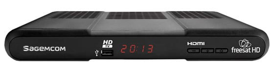 Sagemcom DSI86HD Freesat receiver