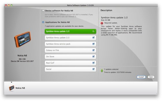 Nokia Mac Software Updater