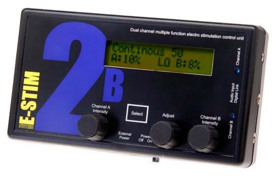 The E-Stim control unit