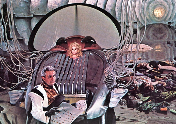 Durand Durand's pleasure machine from Barbarella
