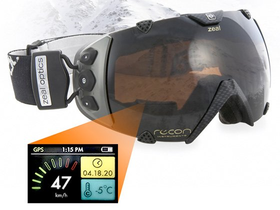 Zeal Optics GPS Goggles