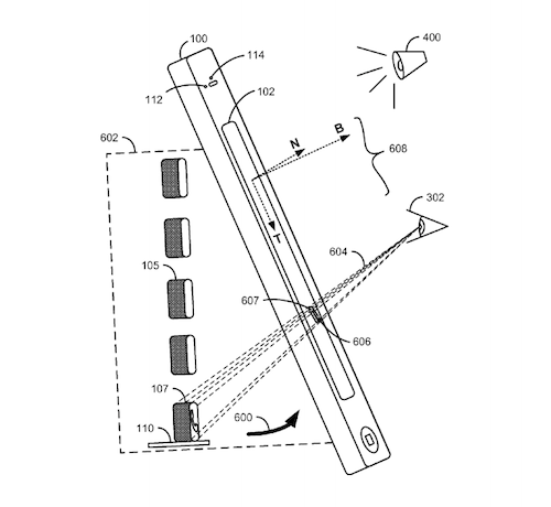 Apple's 3D interface, credit US Patent Office