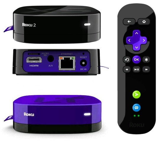 Roku 2 XS and Roku LT