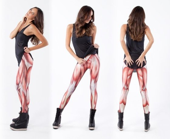 Black Milk muscle leggings