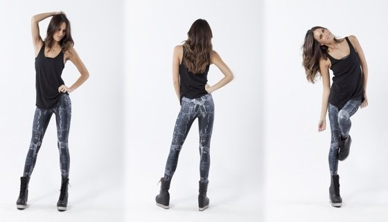 Black Milk circuit leggings