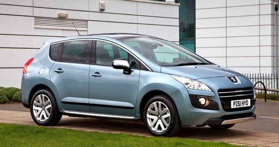 Peugeot 3008 HYbrid4 plug-in