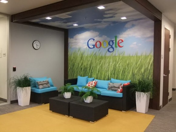 Google's Mountain View headquarters