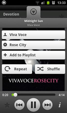 Spotify Music app