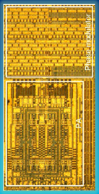 Intel's pure digital RF transmitter for wireless LANs