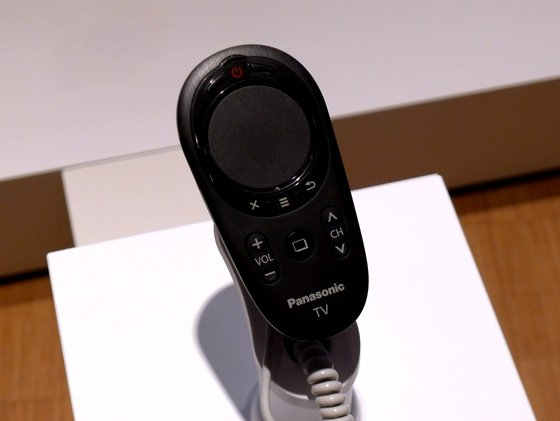 Panasonic Touch Pad remote control