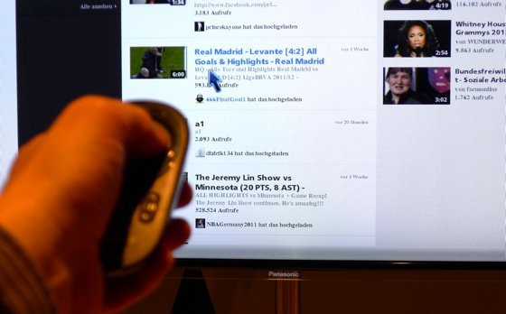 Panasonic Touch Pad remote control
