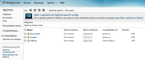 SkyDrive desktop client