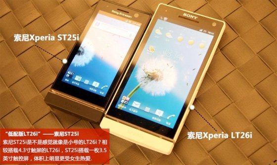 Xperia U and Xperia S