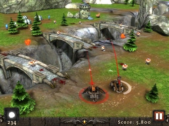 Siegecraft iOS game screenshot